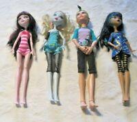 Monster High Doll Lot (1) ~ 4 Dressed Dolls