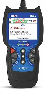 New Innova 3150RS OBD2 Scanner Car Code Reader with ABS SRS Live Data, Expedited