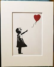 Banksy Print Balloon Girl Love - Street Art Graffiti Stencil 5 x 7