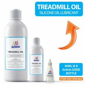 TREADMILL OIL Pure Silicone Oil Lubricant for Treadmill Belts - PIPETTE INCLUDED