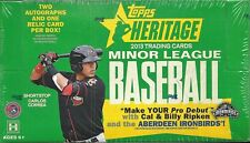 2013 Topps Heritage Minor League Factory Sealed Hobby Box  George Springer  ???