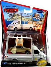 Disney Cars Cars 2 Deluxe Oversized Popemobile Diecast Car #9