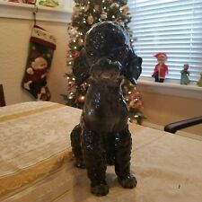 Goebel Black Poodle 30014/29 11 inches tall