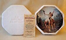 "Hamilton Collection ""Deliverance"" From Mystic Warriors Cllctn, # 2767K,Coa, 8"""