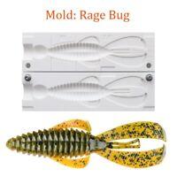 "Mold Bug Craw Soft Plastic Fishing Lure Bait Making 4"""