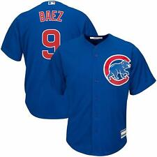 JAVIER BAEZ CHICAGO CUBS YOUTH MEDIUM 10/12 BLUE MLB BOYS JERSEY