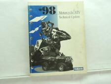 1998 Yamaha Motorcycle/Atv Technical Update Manual Book B6304
