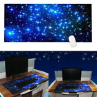 Galaxy Mouse Pad Mat Stitched Edge Antislip Gaming Computer Keyboard Office Desk