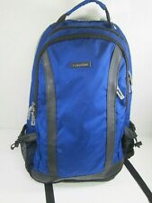Calvin Klein Unisex Black/Blue Polyester Laptop Backpack