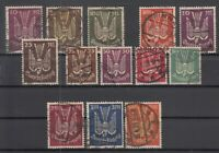 X4566/ GERMANY REICH – AIRMAIL – 1922 / 1923 USED LOT – CV 255 $