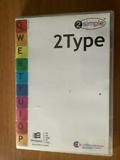 2Simple 2Type Children's Typing Tutor Software