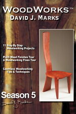 David J Marks WoodWorks Season 5 DVD Woodworking Furniture Instruction DIY Video