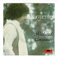 Richard COCCIANTE Disque Vinyle 45T MARGUERITE -STUPIDE COMEDIE -POLYDOR 2001764