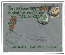 GB-AUSTRALIA, 1932 CHRISTMAS  AIRMAIL COVER, NEAT COVER