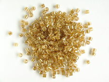 Delica Size 8 Lustre Golden Rose (DBL901) Seed beads, 7.5g