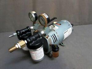 GAST 0523-V4H-G588DX Vacuum Pump; 115V