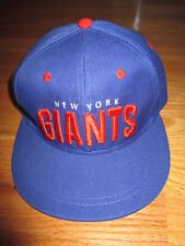 Budweiser NEW YORK GIANTS NFL (Adjustable Snap Back) Cap
