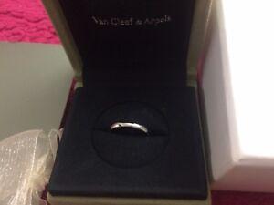 Van Cleef & Arpels Platinum Wedding Band 3mm