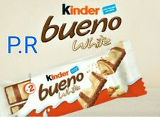 6 packs of kinder bueno  chocolate White bars