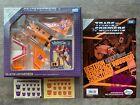 G1 Takara Tomy Transformer Sunstorm D-89 Ehobby e-hobby MISB + Comic + Stickers