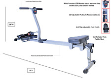 X Factor Rowing Machine Pro Rower Glider All Muscles Full Motion Workout Fitness