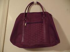 womens carryall bag purple!