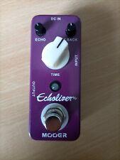 Mooer Echolizer, Vintage Delay Effektpedal