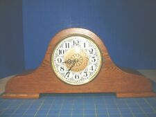 HANDCRAFTED  VERMONT CLOCK CRAFT SOLID ALL OAK  MANTLE CLOCK