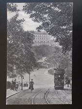 Yorkshire SCARBOROUGH Entrance to Ramsdale Valley shows TRAM 16 c1911 Postcard