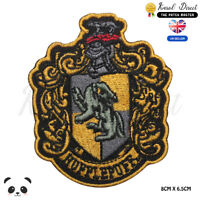 Harry Potter Hufflepuff Embroidered Iron On Sew On PatchBadge For Clothes etc