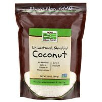 NOW Foods Coconut, Unsweetened & Shredded, 10 oz.