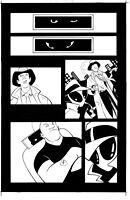 Decoy Menagerie GN Page 6 Original Art - Sean Galloway & James Taylor