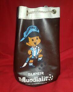 FIFA WORLD CUP ARGENTINA 1978 vintage GAUCHITO Mascot MARINER BAG rare SOCCER