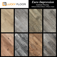 12mm Euro Laminate Flooring Sample Floating Timber Floor boards Click Lock