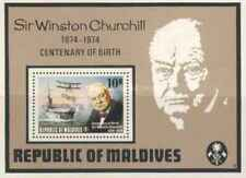 Timbre Personnages Churchill Maldives  BF26 ** lot 24658 - cote : 20 €