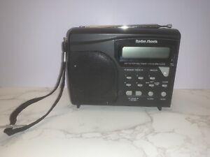 Radio Shack 12-626 AM/FM Radio Vintage Portable LCD Alarm Clock- Parts Only