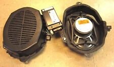 BMW E46 3 Series Sedan OEM Rear Harman Kardon Subwoofer Speakers & OEM Amp # A1