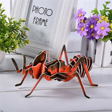Insects-Ant DIY 3D Stereoscopic Puzzle Paper Puzzle Educational Handcraft Jigsaw