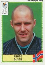 N°236 FRODE OLSEN NORGE NORWAY PANINI EURO 2000 STICKER VIGNETTE