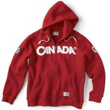 CANADA HBC OLYMPIC HOODIE SWEATER WOMEN'S LG RED  EXTREMELY RARE!!