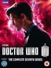 DOCTOR Dr WHO Complete 7th Series Season 7 DVD Box Set BBC
