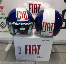 CASCO JET NOLAN N20 TRAFFIC FIAT RACING COLOR CAYMAN BLU TAGLIA S MADE IN ITALY