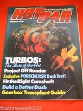 HOT CAR - TURBOS - JULY 1981