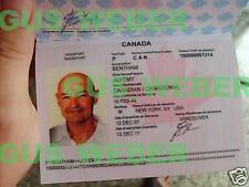 Lost prop Set 3 John Locke's passport