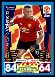Match Attax 2017/18 Antonio Valencia Manchester United No. 203