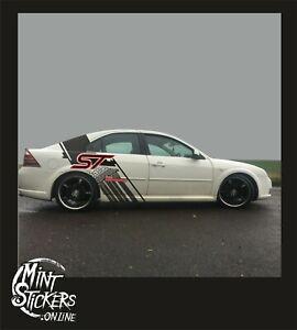 Ford Monde ST Design Car Sport Graphics Sticker Garages Decal Cool Design