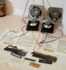 Vintage Kenwood JL-865AV, Parts from Pair of Speakers and Stereo Cabinet SRC-760