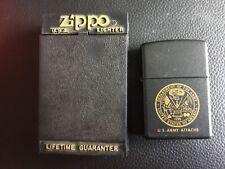 ZIPPO 2005 UNITED STATES US ARMY ATTACHÉ BRAND NEW
