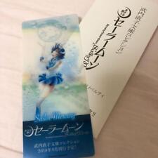 Sailor Moon Classic Concert Novelty Sailor Mercury Bookmark  F/S JAPAN