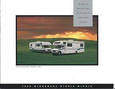 Motor Home Brochure - Winnebago - Minnie Winnie - 1996 (MH175)